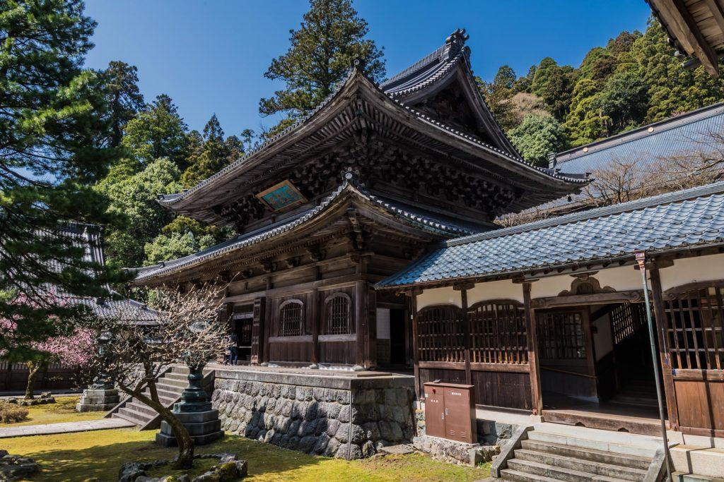 Pavillion im Eihei-ji Tempel