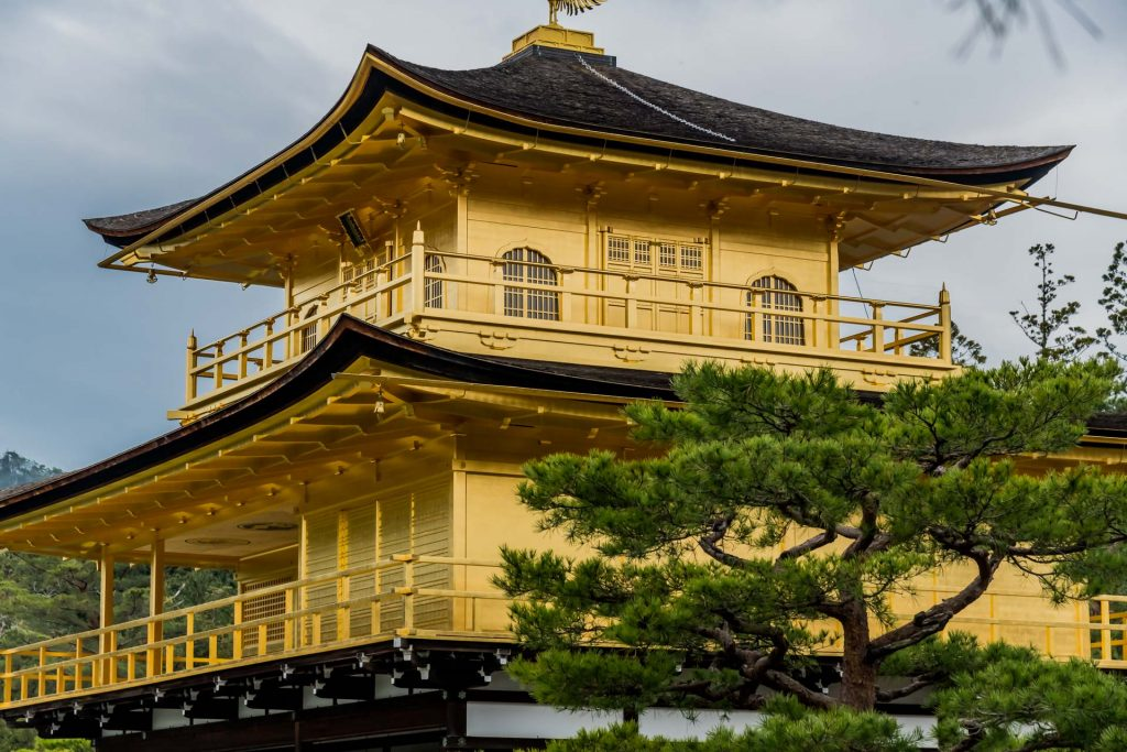 Goldener Pavillion Kyoto 2 -Kyoto, das Herz Japans schlägt hier