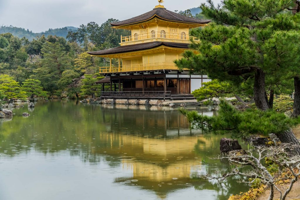 Golderner Pavillon Kyoto