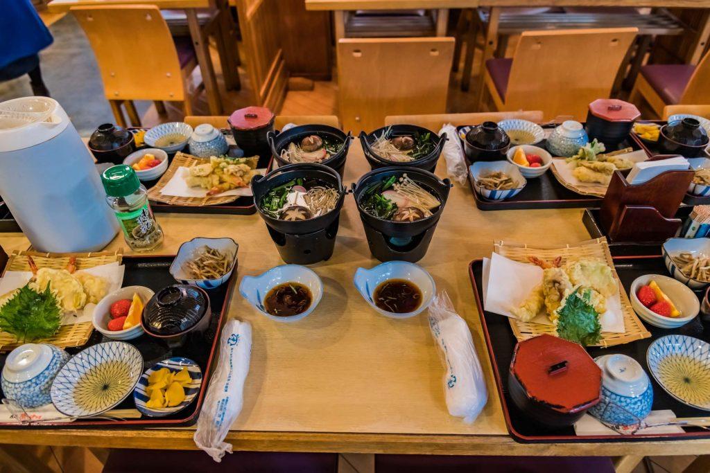 Mittagessen in Kyoto 1 -Kyoto, das Herz Japans schlägt hier