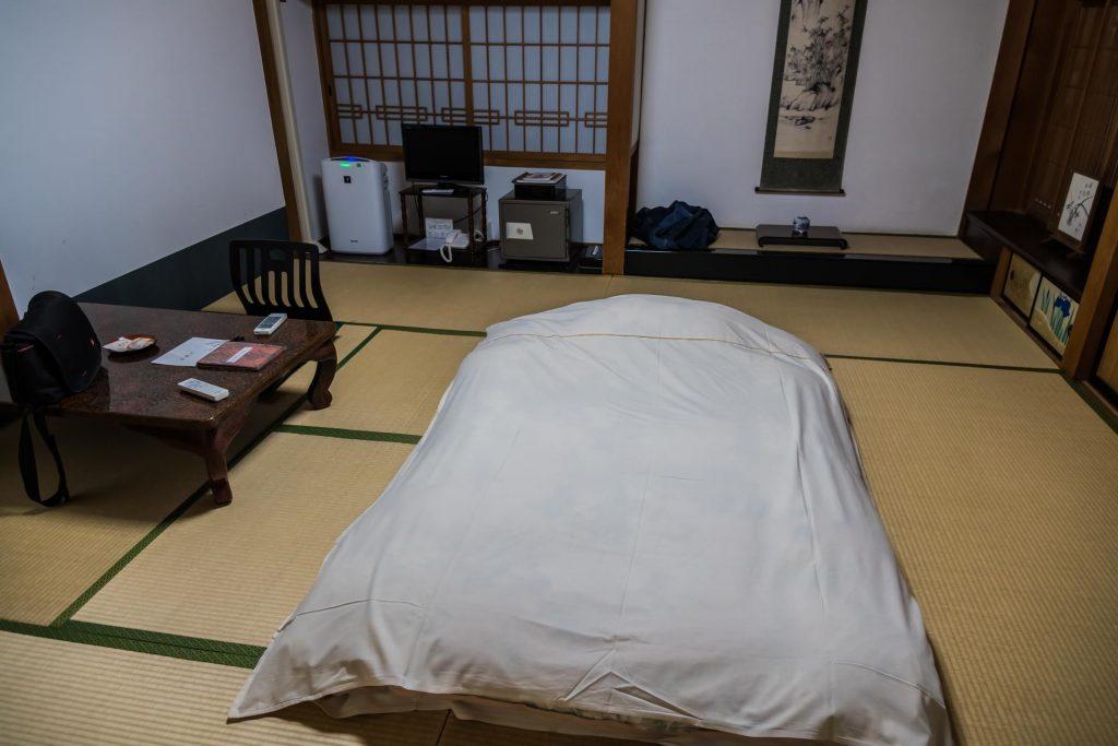 Schlafen im Kloster auf dem Mount Koya