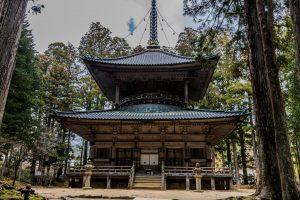Tempel im Danjōgaran Mount Koya