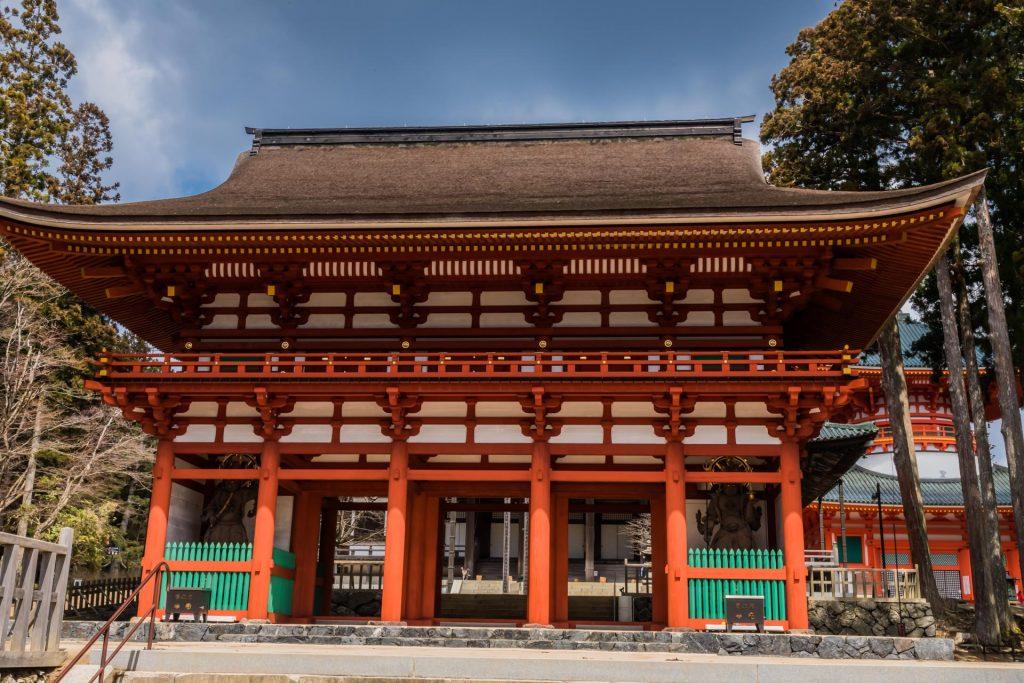 Toori im Danjōgaran Mount Koya