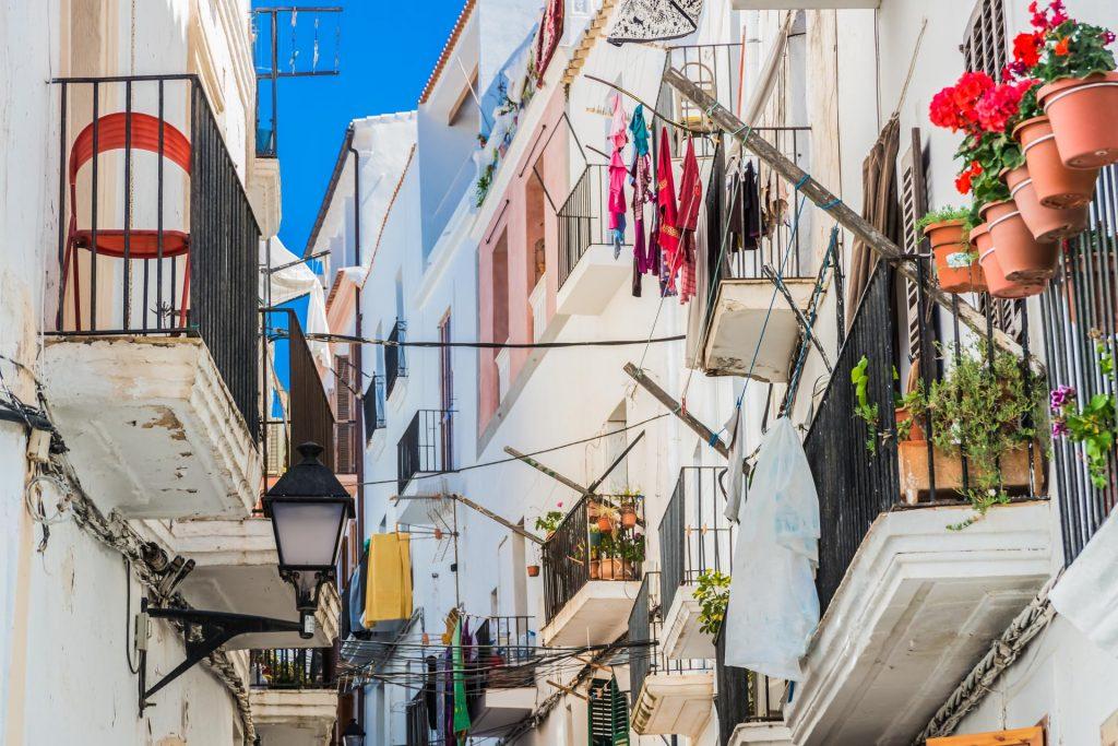 Altstadt von Ibiza Stadt