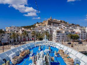 MS Ocean Majesty auf Ibiza