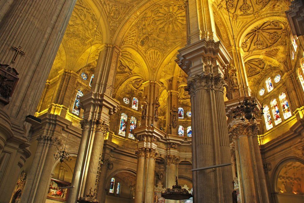 In der Kathedrale von Malaga