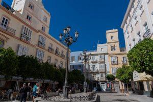 In der Altstadt von Cadiz