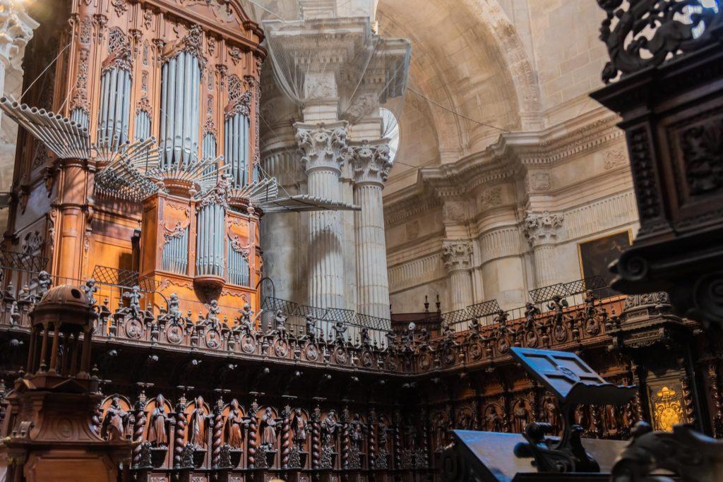 Chor der Kathedrale von Cadiz