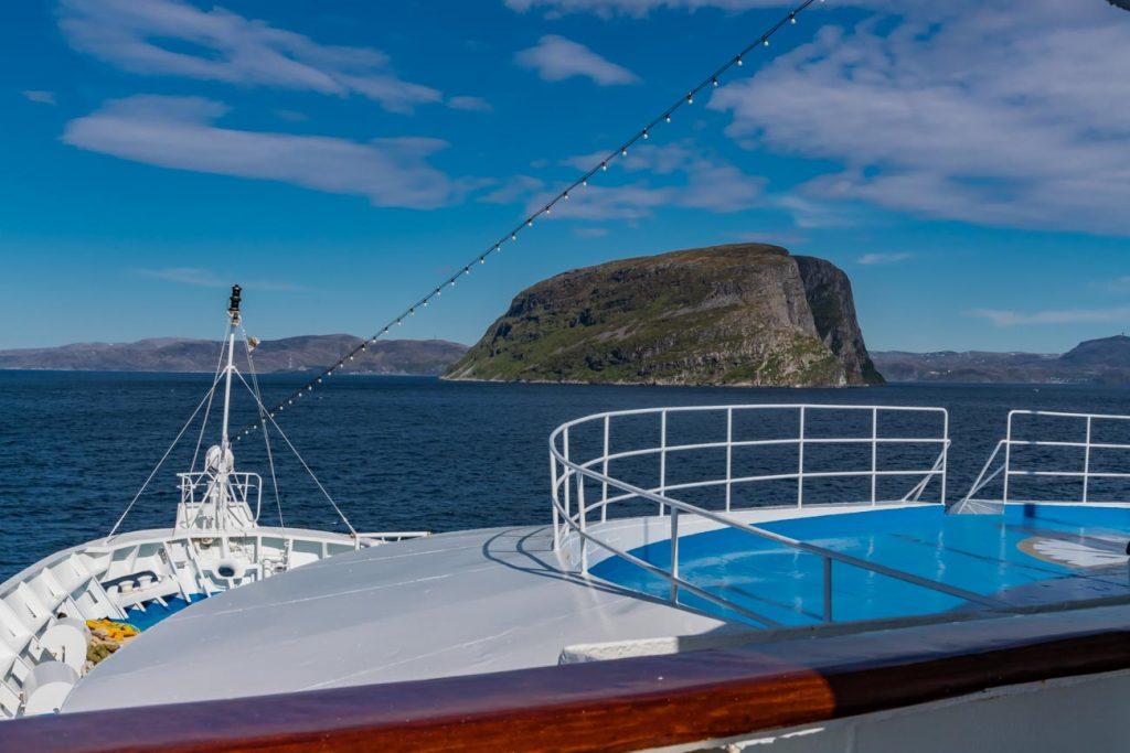MS Ocean Majesty auf dem Weg zum Nordkap
