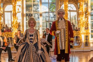 Galaempfang im Katharinenpalast