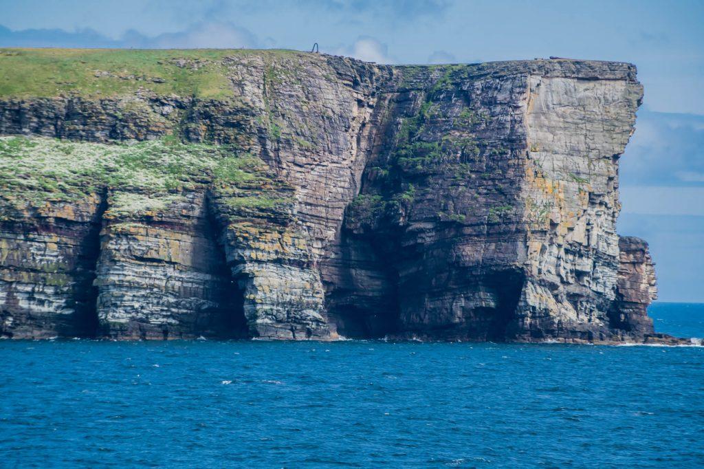 Küste der Shetlandinseln