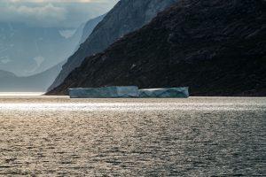 Eisberg im Prins Christian Sund