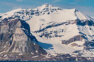 Berglandschaft auf Spitzbergen