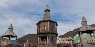 Orthodoxe Kirche in Barentsburg