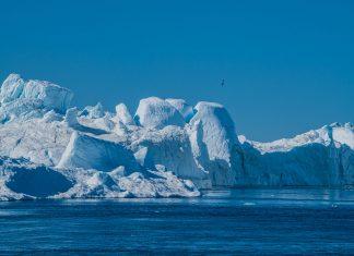 Eisgebirge in der Diskobucht