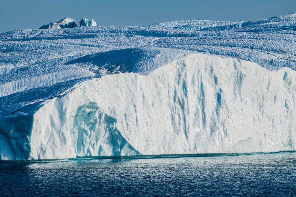 Eisfront in der Diskobucht