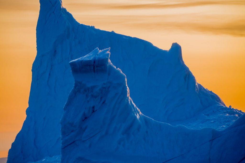 Eis im Ilulissat Eisfjord