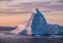 Eisberg in Ilulissat auf Grönland