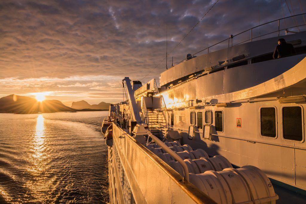MS Ocean Majesty auf den Lofoten