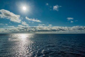 Sonne am geografischen Nullpunkt