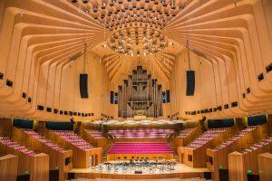 Großer Konzertsaal im Sydney Opera House