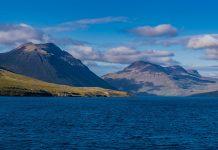 Einfahrt in den Siglufjördur auf Island