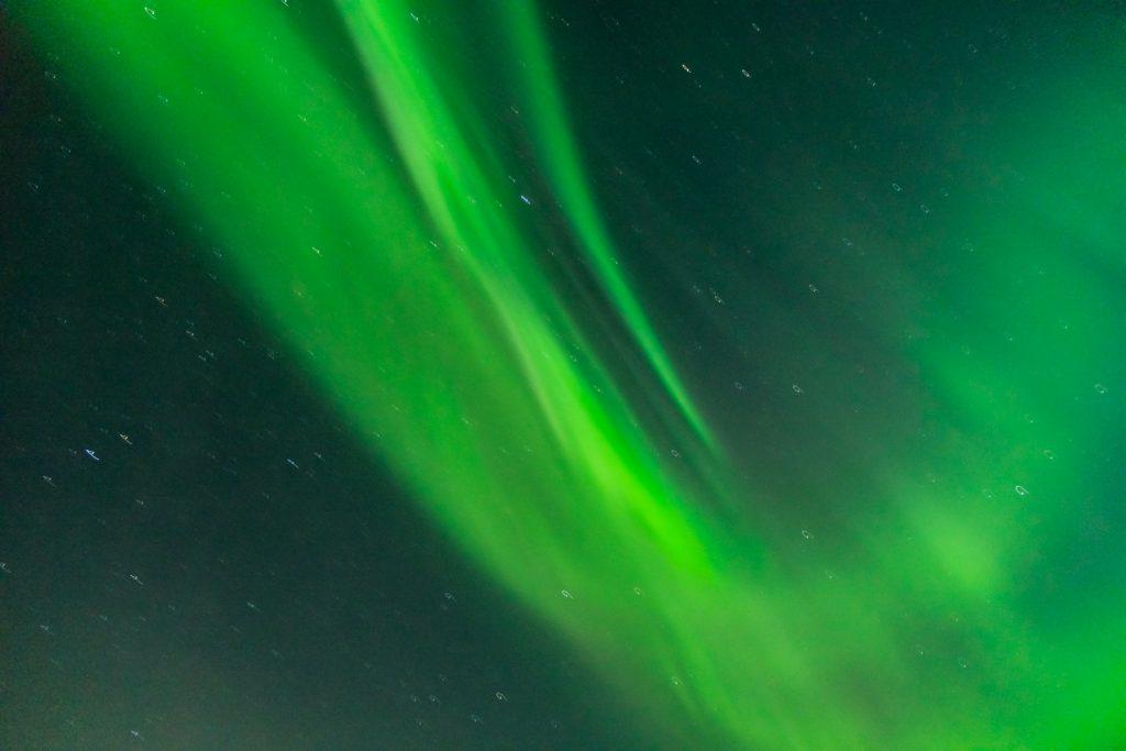 Polarlicht vor Island