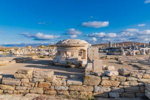 In den Ruinen von Delos