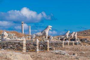 Die Terrasse der Löwen