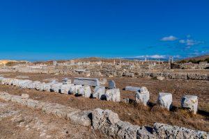 Ruinen auf Delos