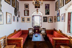 Im Kloster auf Amorgos