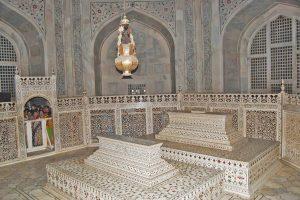 Kenotaphe von Mumtaz Mahal und Shah Jahan