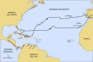 Erste Reise des Christoph Kolumbus