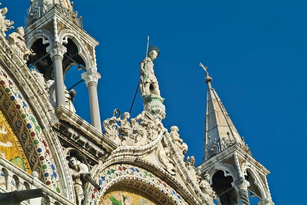 Fassade Markusdom in Venedig