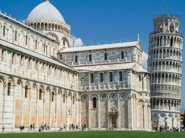 Schiefer Turm von Pisa und die Kathedrale
