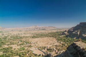 Wadi Dhar im Jemen