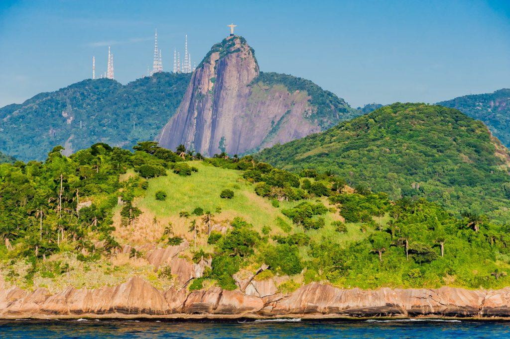 Corcocado und Cristo Redentor in Rio de Janeiro