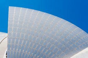 Verkleidung des Sydney Opera House