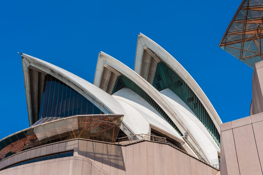 Segeldesign am Sydney Opera House