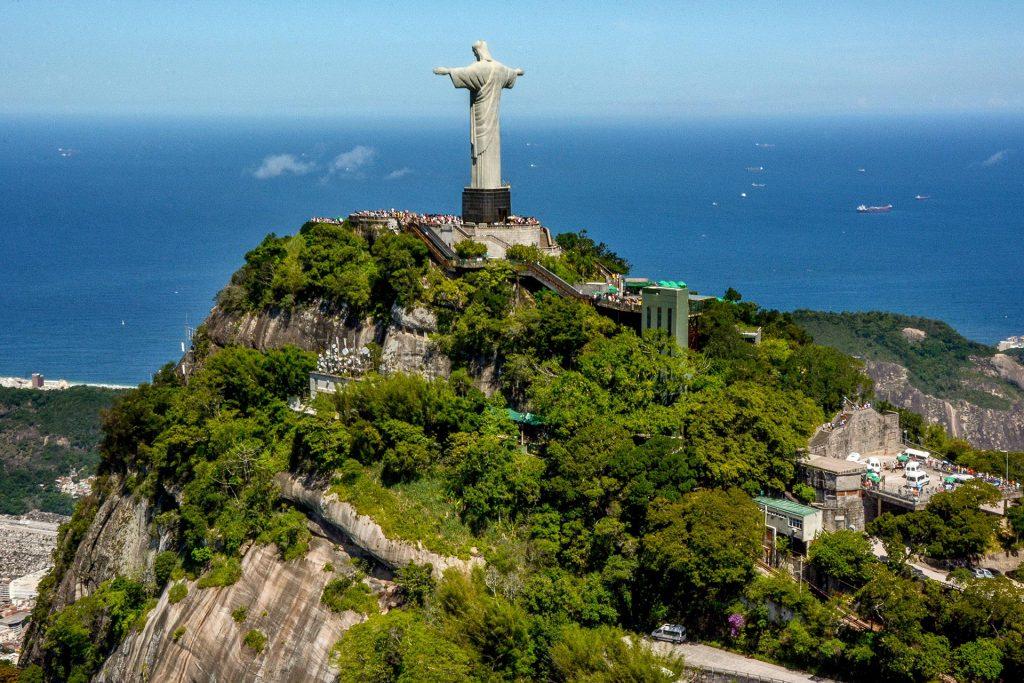 Corcovado und Cristo Redentor in Rio