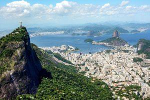Blick auf Rio de Janeiro und den Zuckerhut