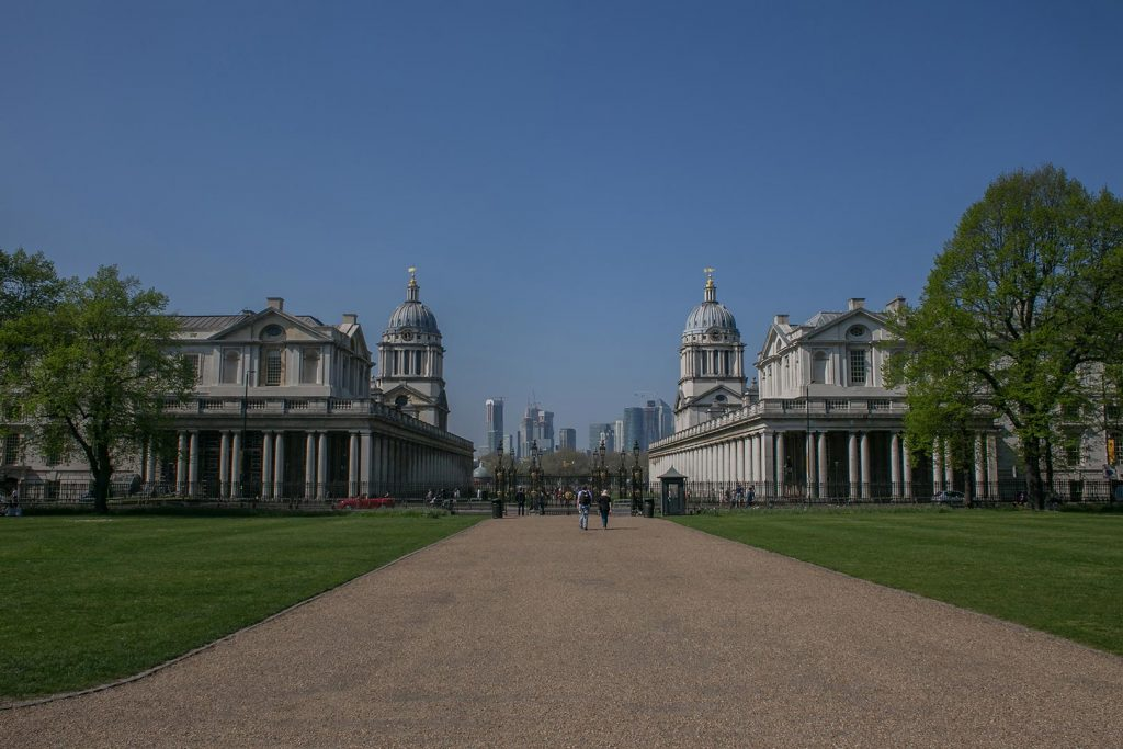 Greenwich - hier wurden geografische Koordinaten entdeckt