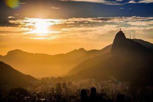 Rio im Sonnenuntergang