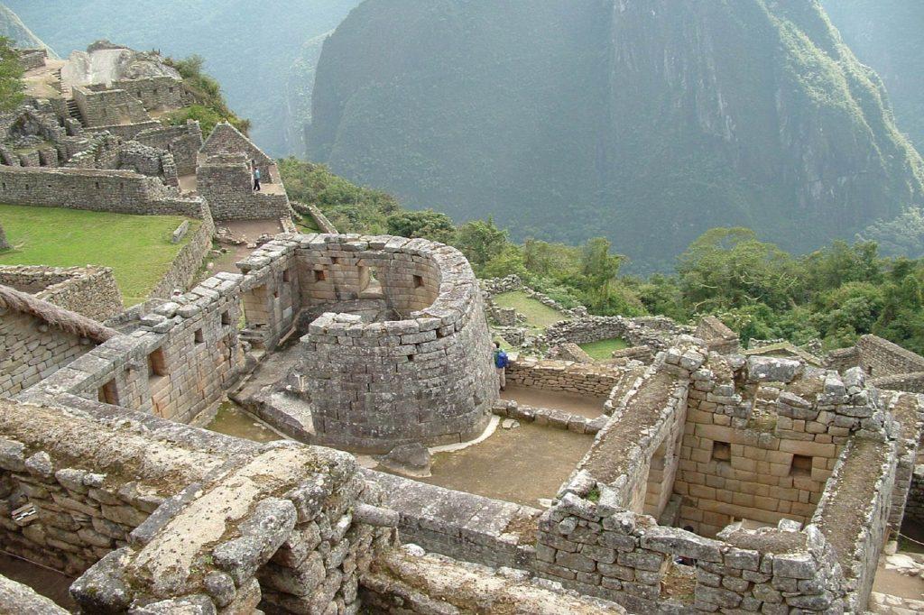 Sonnentempel in Machu Picchu