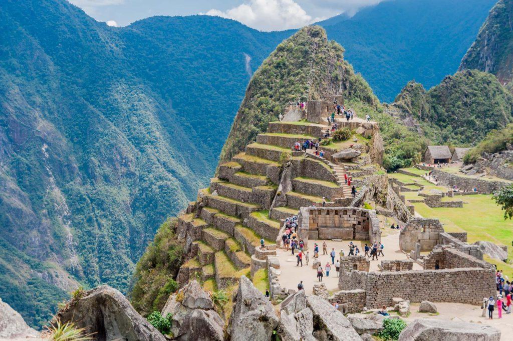 Die Intihuatana-Pyramide