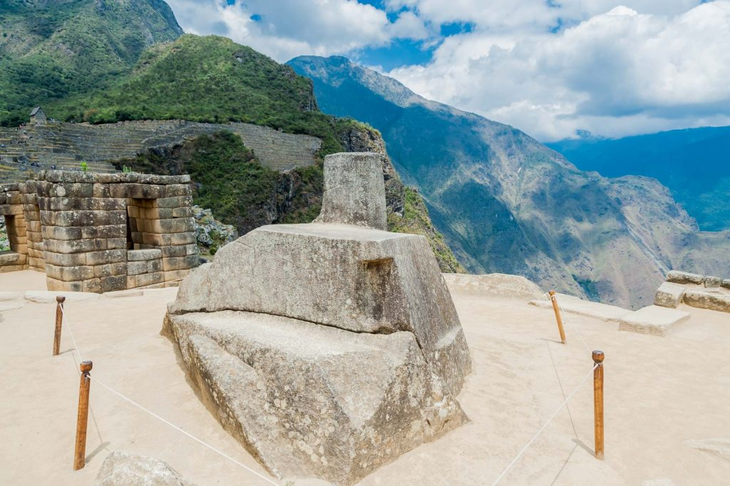 Der Intihuatana-Stein