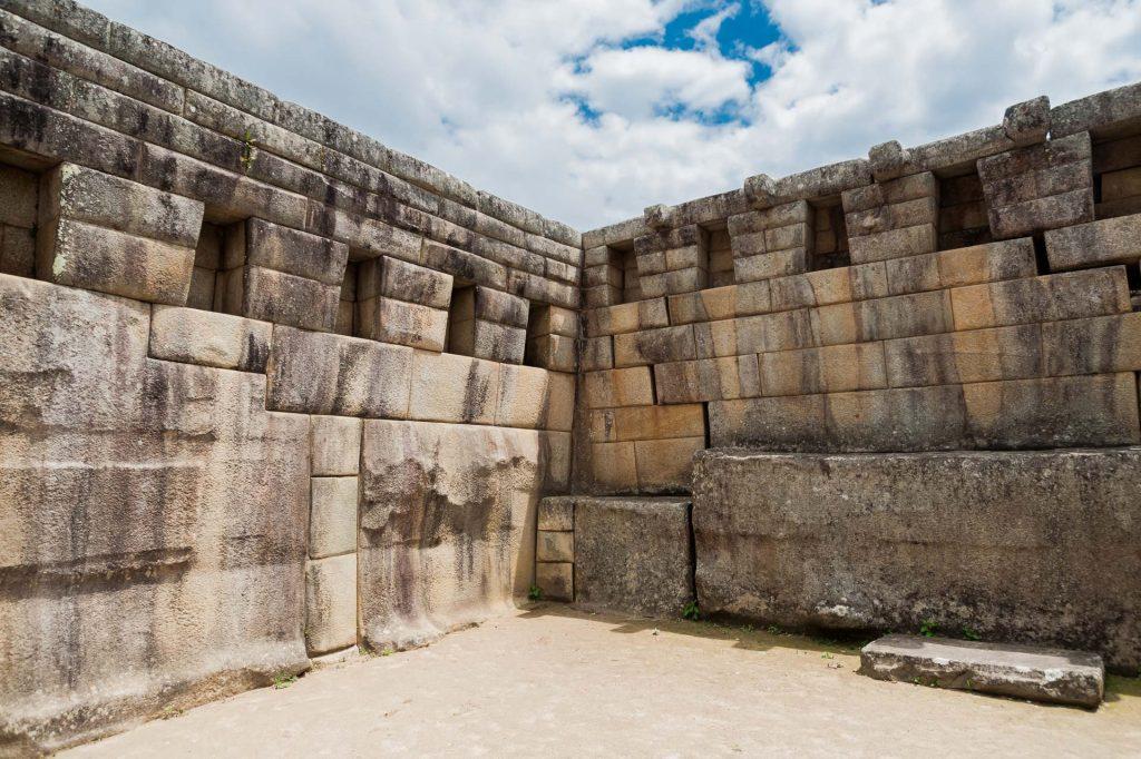 Der Haupttempel in Machu Picchu