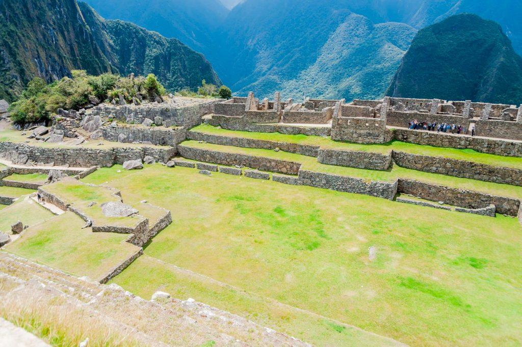 Hauptplatz in Machu Picchu