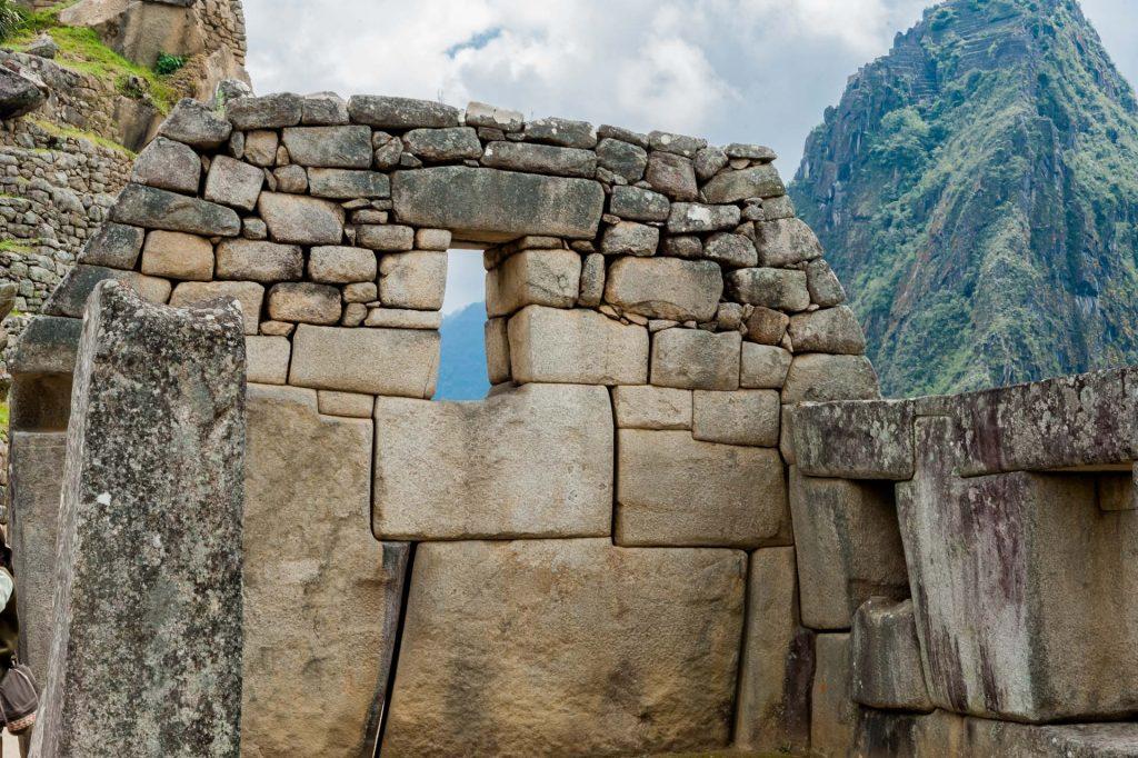 Trapezfenster der Inka