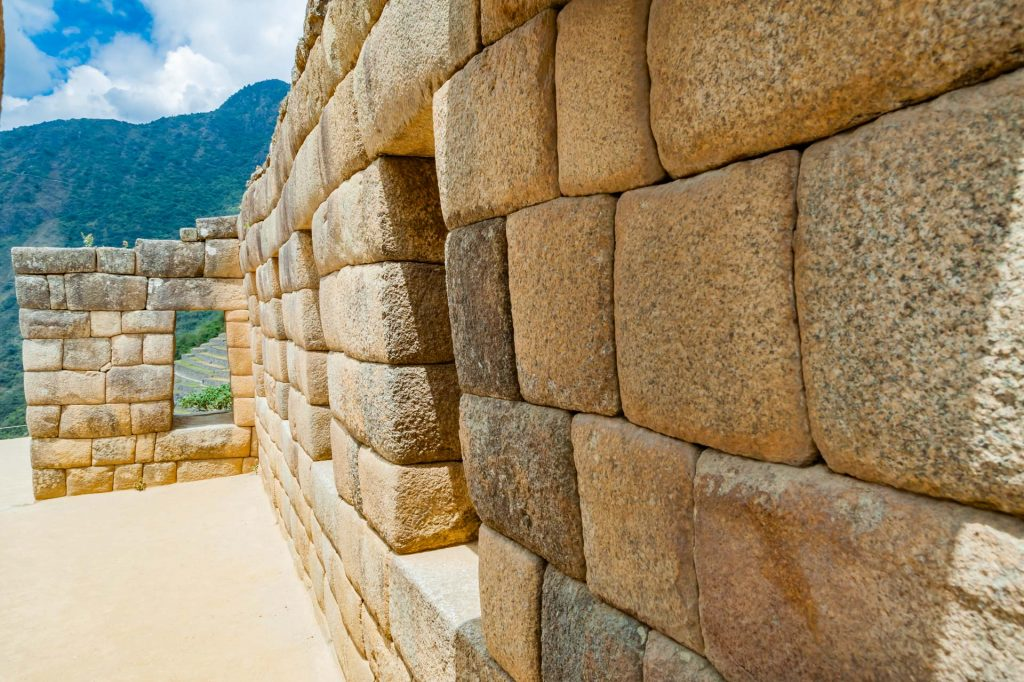 Mauerwerk in der Inkastadt